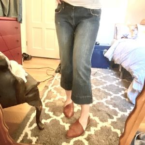 Brody Cropped Kick Flare Jeans